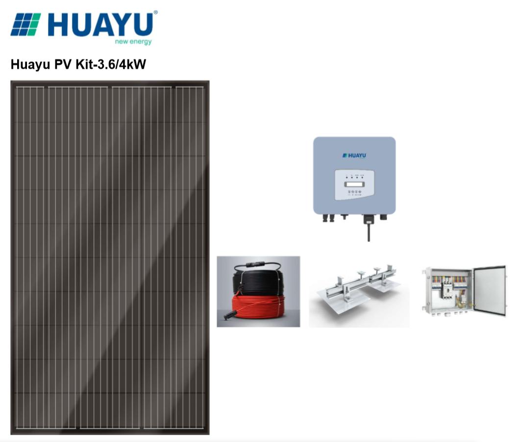 PV Kit-3.6/4kW (9-14 panels)